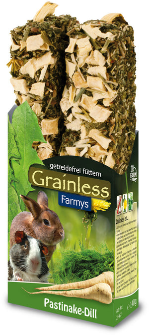 JR Farm rodent Grainless Farmys parsnip-dill