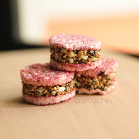 Seed+Nut Burger Treat