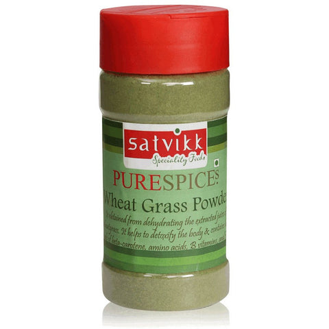 SATVIKK WHEAT GRASS POWDER 50G