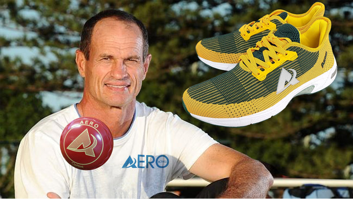 AERO BOWLS SHOES: WORN & RECOMMENDED BY <BR> KEPLER WESSELS