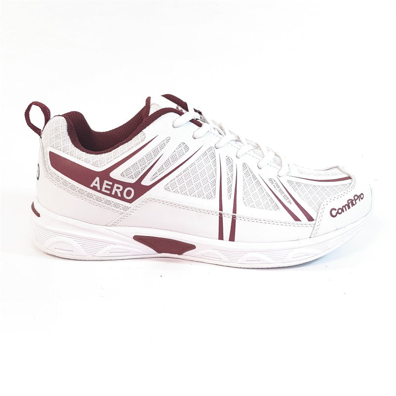 Active Mens Maroon Shoes