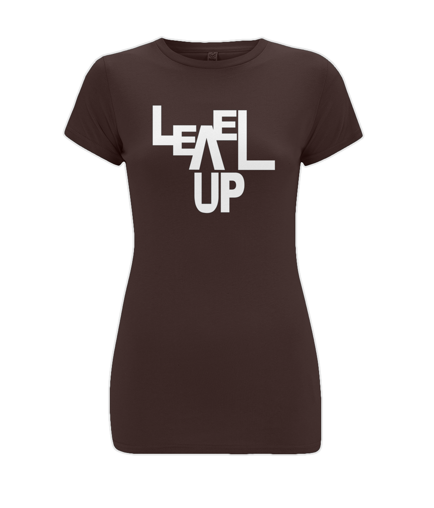 """Level Up""  - Women Organic Cotton Tee"