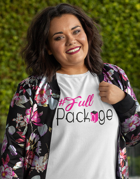 """Full Package""  - Women Organic Cotton Tee"