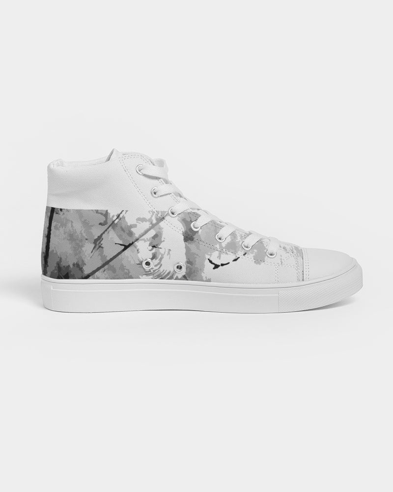 Nardo Organic Women's Biggest Fan Hightop Canvas Shoe