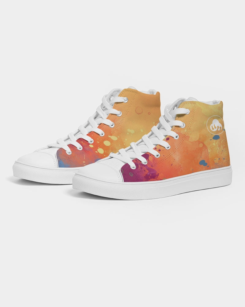 Nardo Organic Women's Sunny Side Up Hightop Canvas Shoe