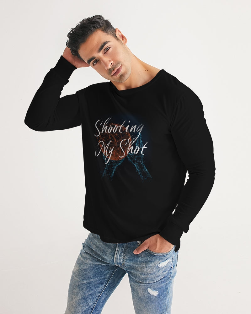 Shooting My Shot - Men Long Sleeve Tee