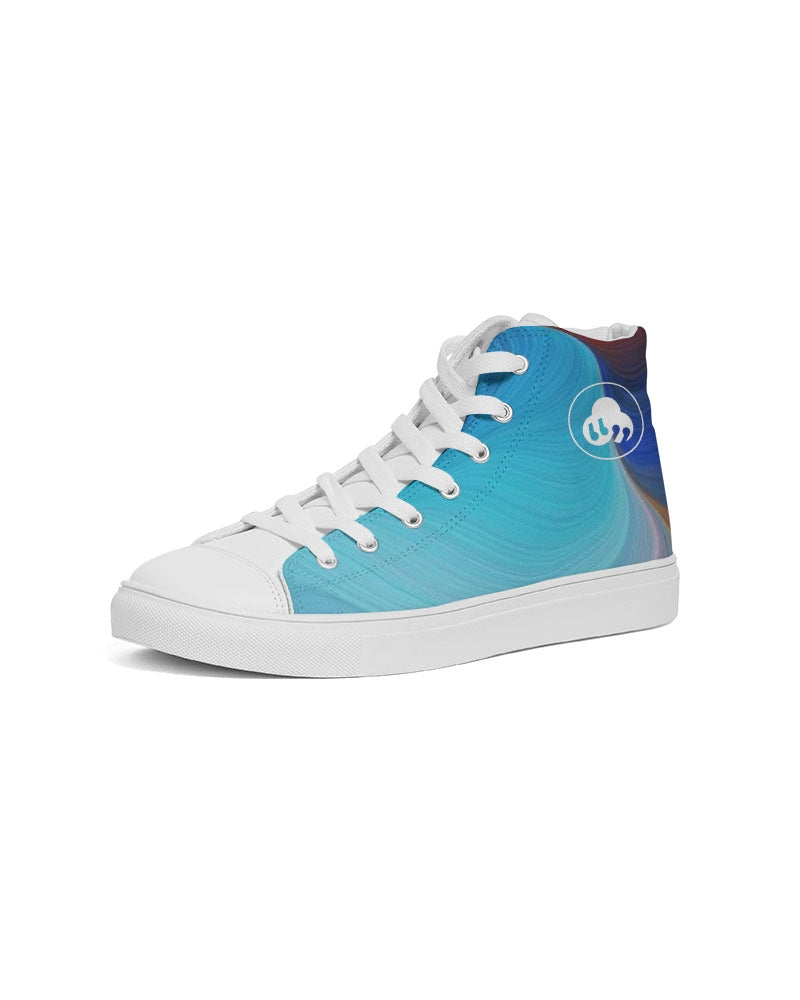 Nardo Organic Women's Freestyle Hightop Canvas Sneakers