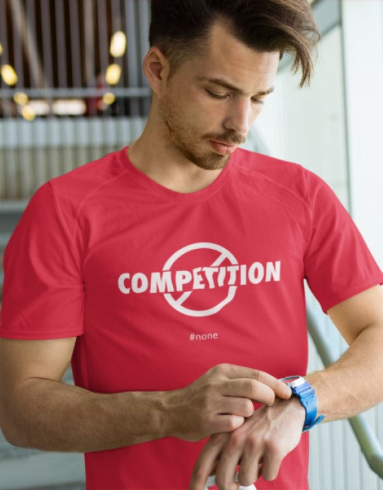 """What Competition #none"" Men Organic Cotton Tee - Classic Jersey"
