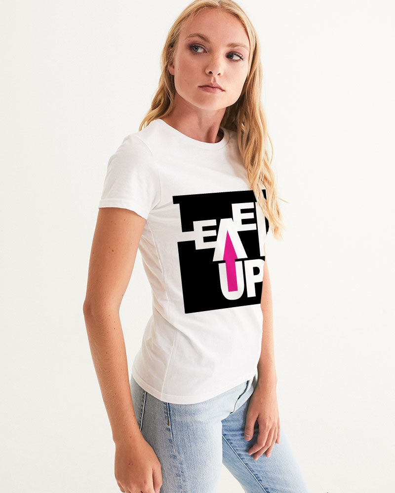 Level Up Women Eco-friendly Graphic Tee