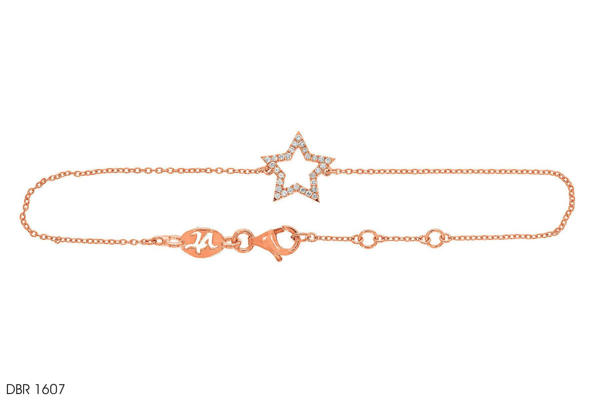 Glowing Star Gold Bracelet - Jeem Noon