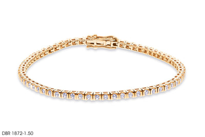 Chain of Diamond Bracelet - Jeem Noon