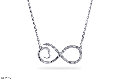 Infinite Love Gold Pendant - Jeem Noon