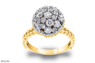 Love Bouquet Composite Diamond Ring