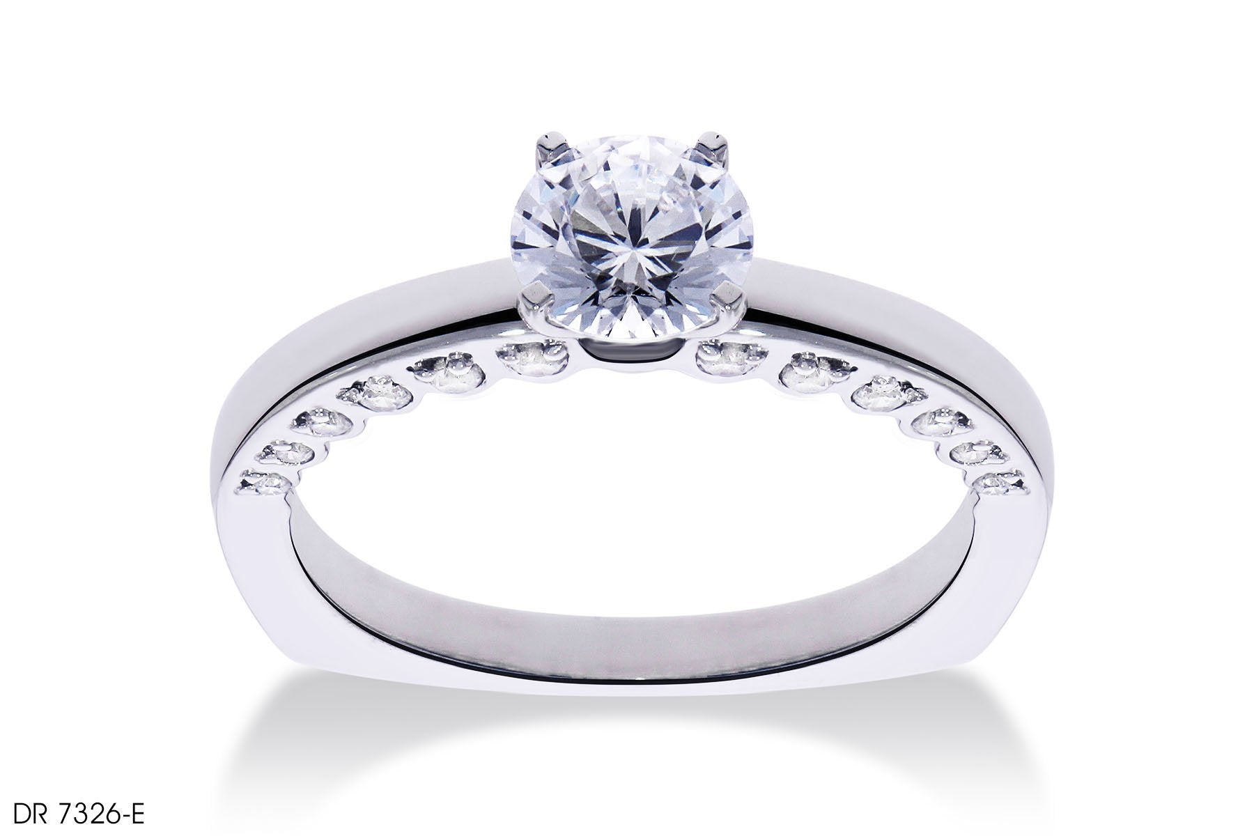 Magnificent Round Diamond Engagement Ring