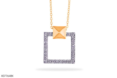 Frame Of Life Gold Pendant - Jeem Noon