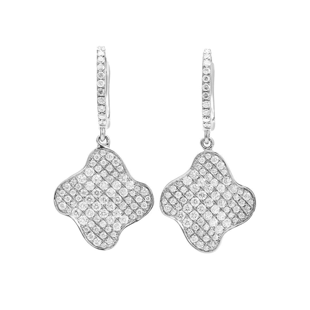 Statement Melee Diamond Earring