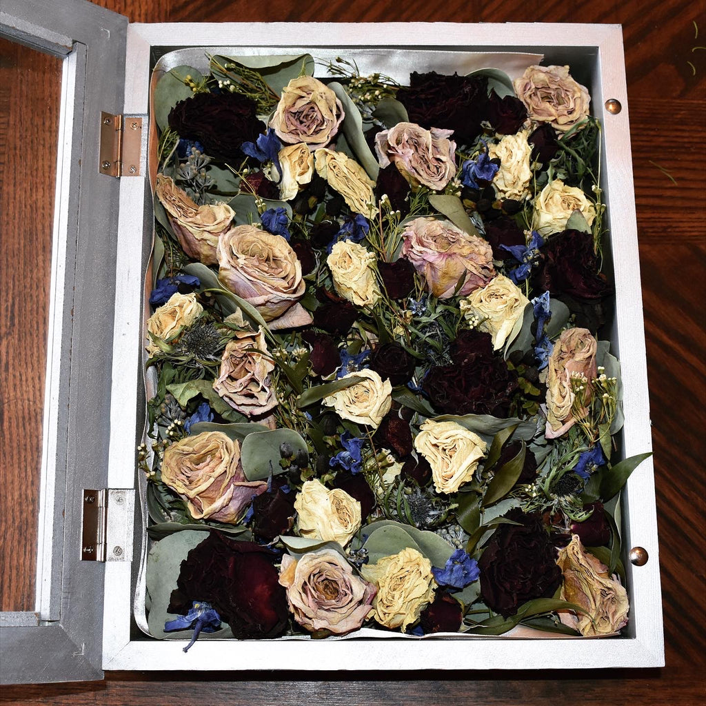 Michelle's Preserved Bridal Bouquet
