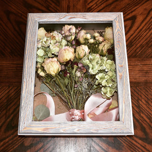 Taylor's Preserved Bridal Bouquet + add on frames