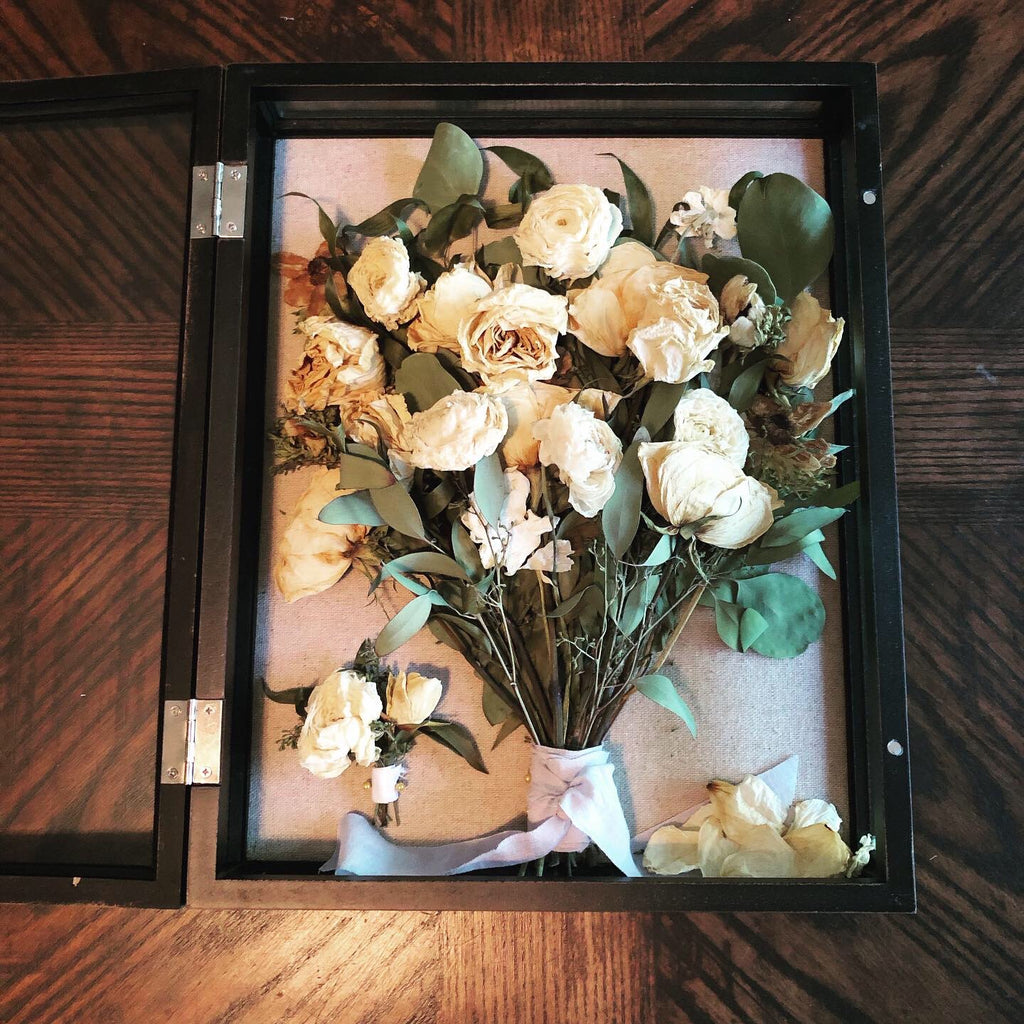 Catelyn's Preserved Bridal Bouquet