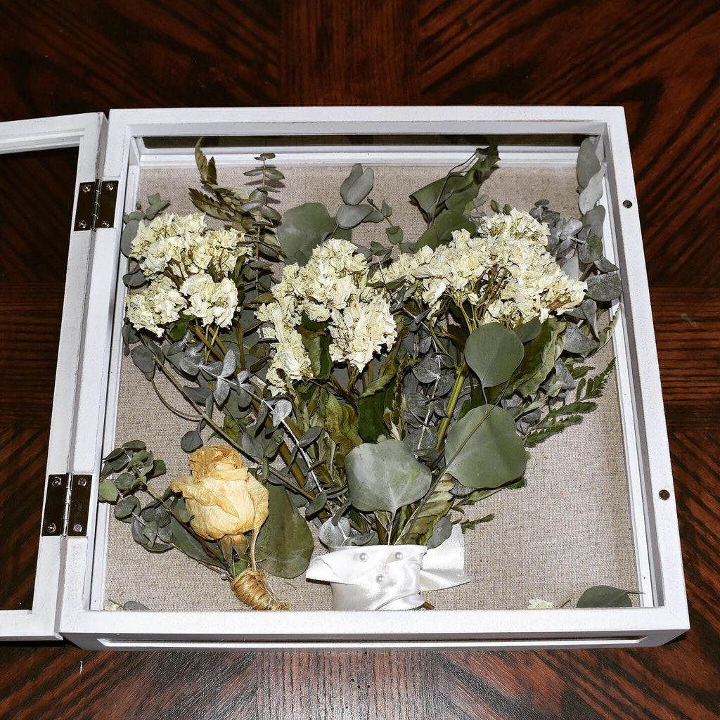 Morgan's Preserved Bridal Bouquet