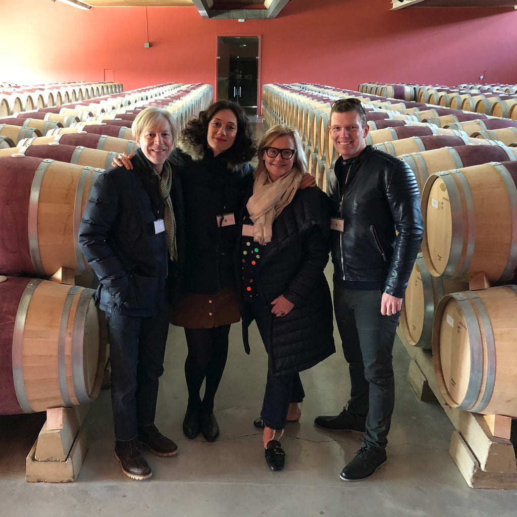 Team Respoke at Roda Winery, La Rioja Spain