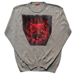 RASCAL Cashmere Crewneck Sweater Grey