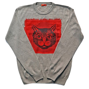 FRESCO Cashmere Crewneck Sweater in Grey