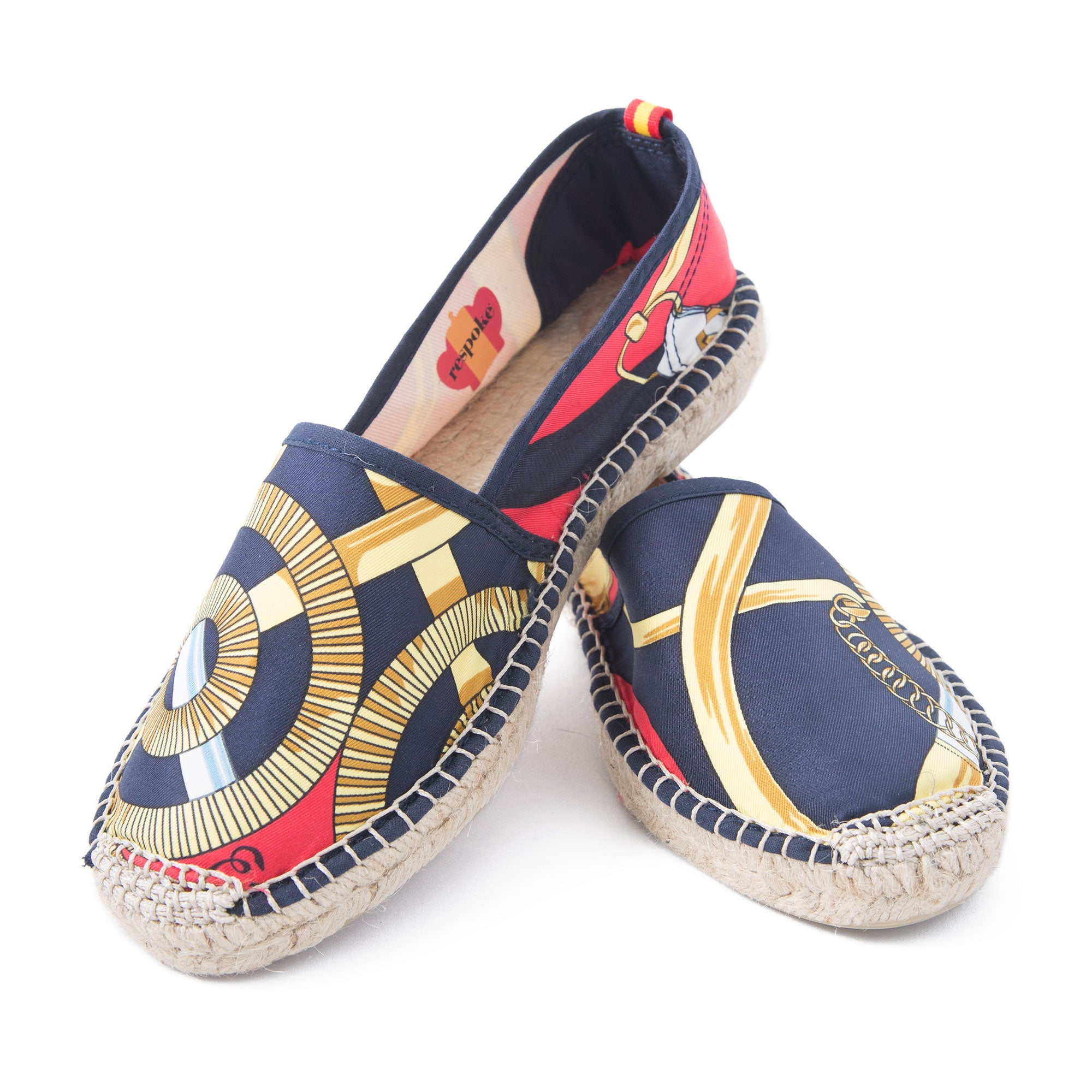 ANA Red/Navy Classic Espadrilles