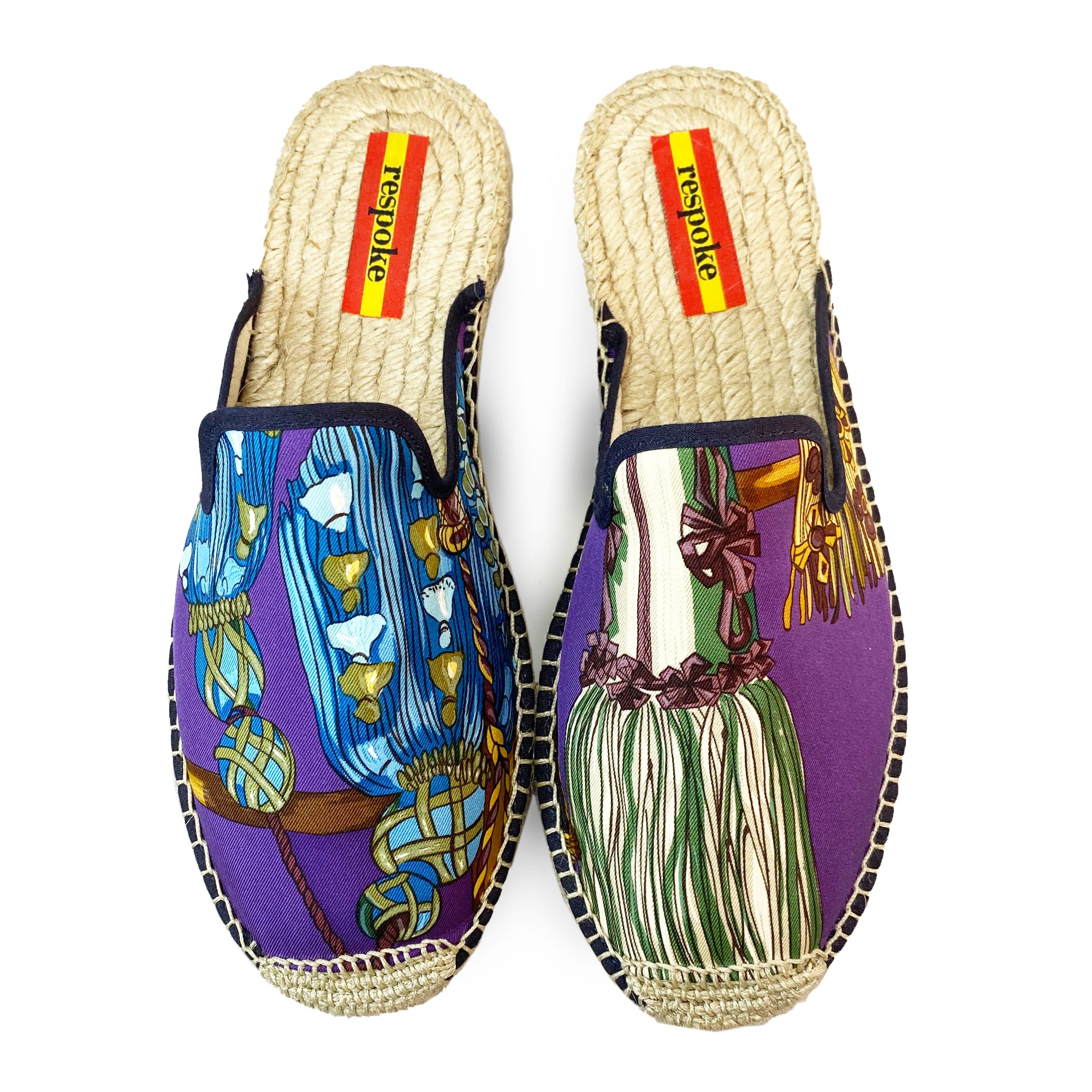 ANGEL Purple Mule Espadrilles