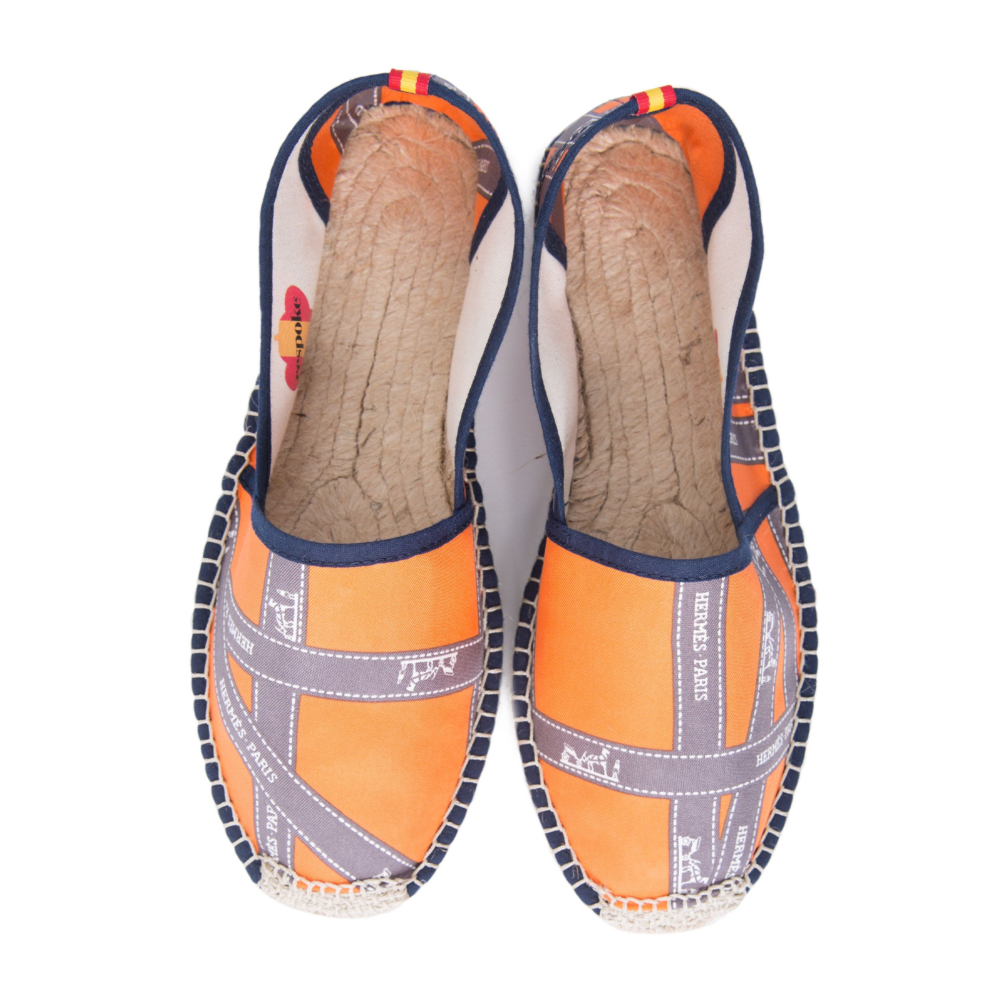 CHRISTENA Orange Classic Espadrilles