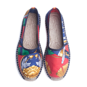 DIEGO Red/Navy Classic Espadrilles