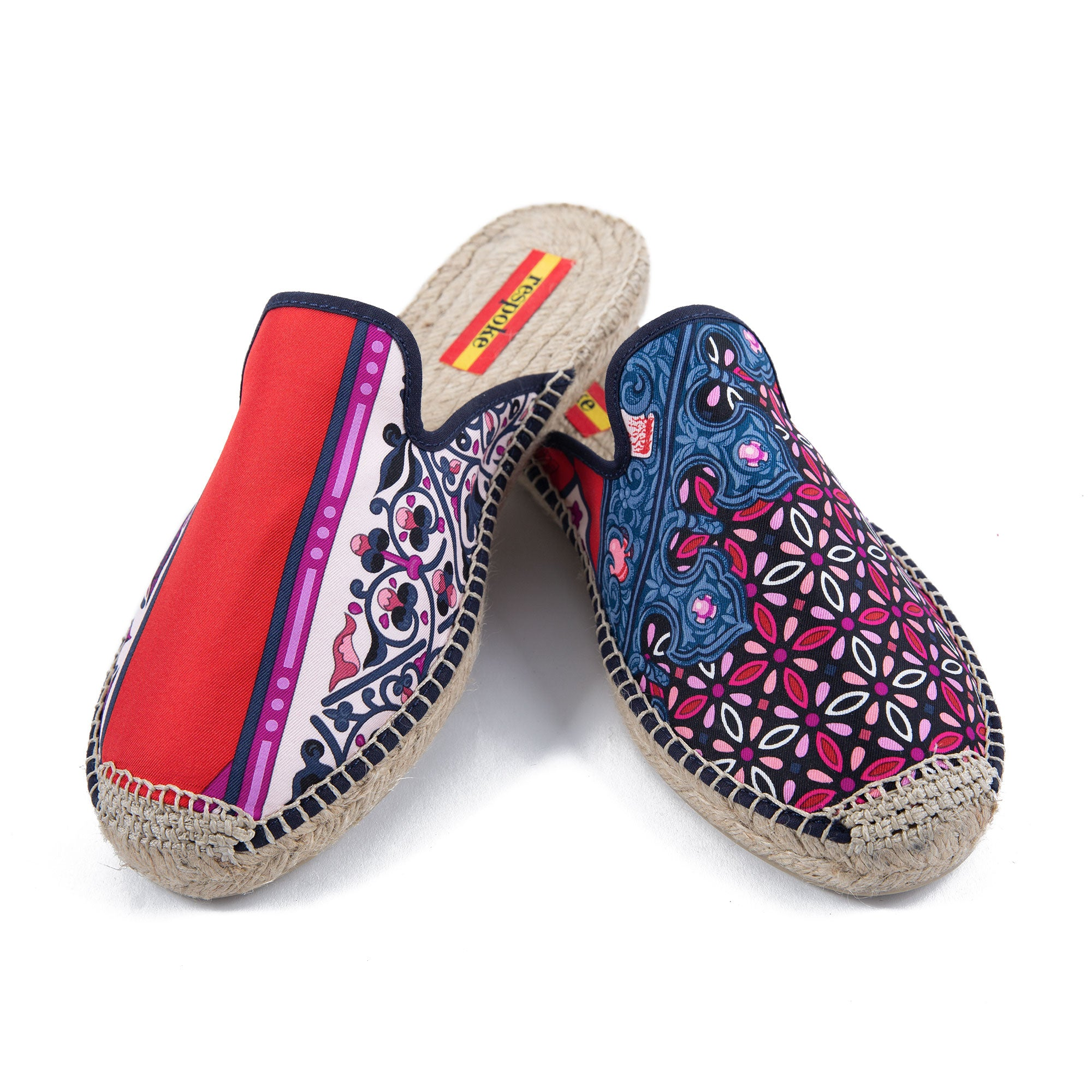 LUPE Red Mule Espadrilles