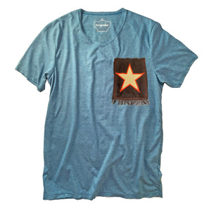 T-Shirt with Star Patch