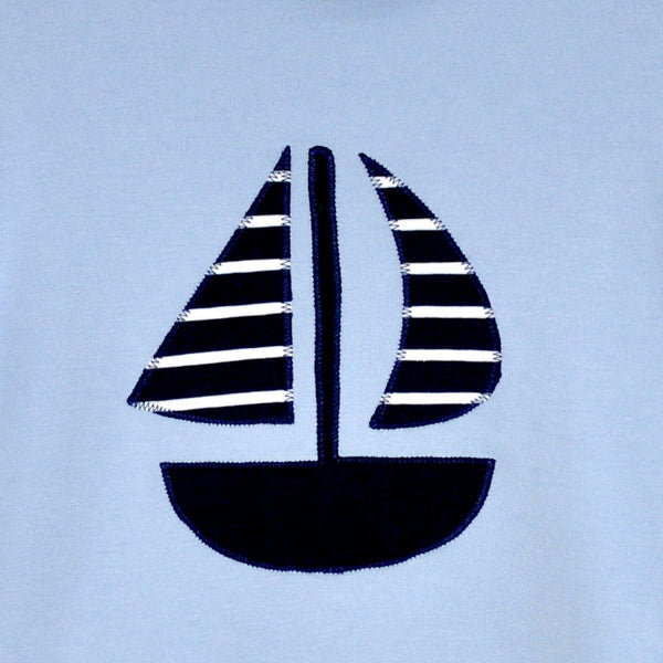 "T-Shirt ""Seegelboot"""