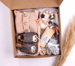 Geschenkbox Luxury  Strick- Love and first Walkers