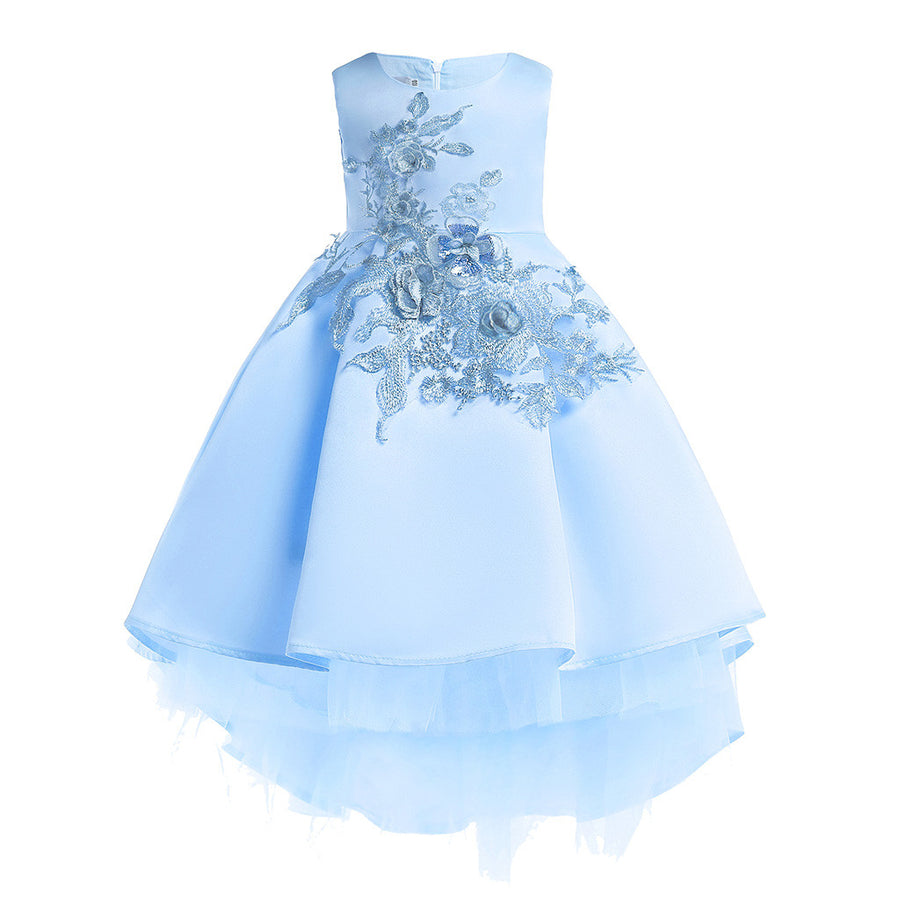 Princess Pageant Flower Baby Girls Dress