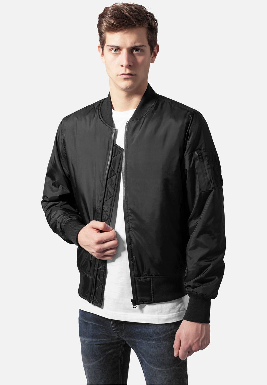 Tech Zip Bomber Jacket