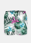 Tropical Flowers & Leaves Shorts