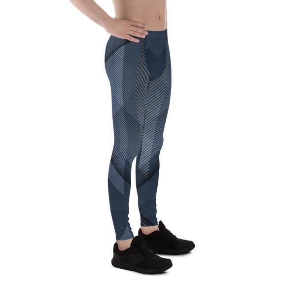 Mens Leggings - Cold Steel Sports Leggings