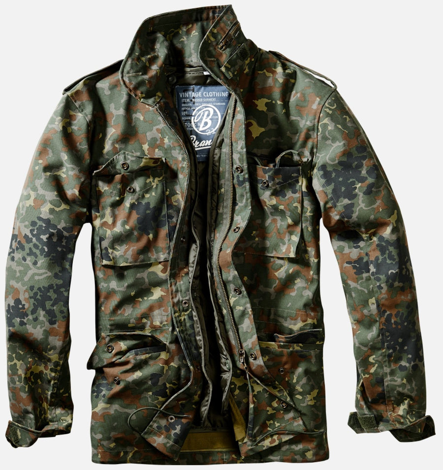 M-65 Classic Field Jacket - Woodland & Flecktarn