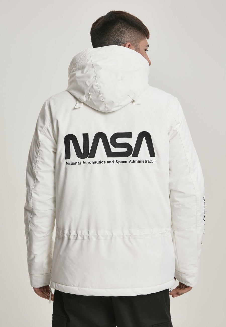 NASA Cool Grey Windbreaker