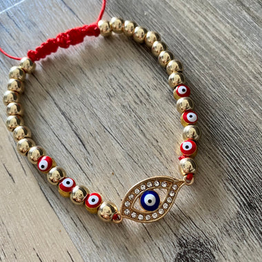 Red Protection Evil Eye Bracelet