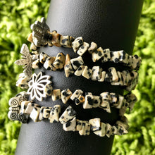Load image into Gallery viewer, Dalmatian Jasper Bracelet (1 of each)