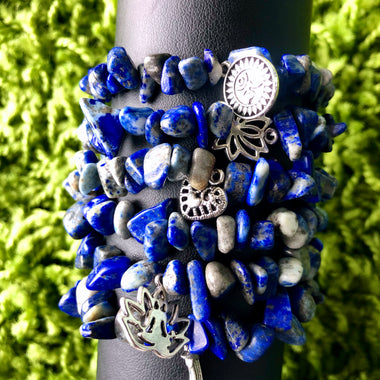 Blue Lapiz Azul Bracelet (1 of each)