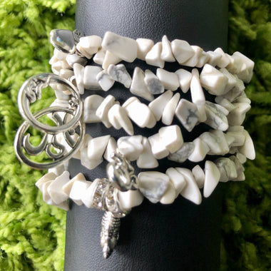 White Howlite Bracelet (1 of each)