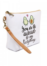 "Load image into Gallery viewer, ""Avocado"" Crystal Travel Bag"