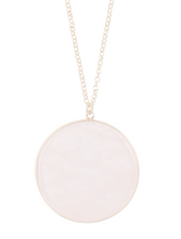 Load image into Gallery viewer, Rose Quartz Pendant Necklace