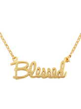 Load image into Gallery viewer, Blessed Pendant Necklace
