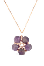 Load image into Gallery viewer, Crystal Gold Necklace