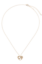 Load image into Gallery viewer, Open Heart Necklace
